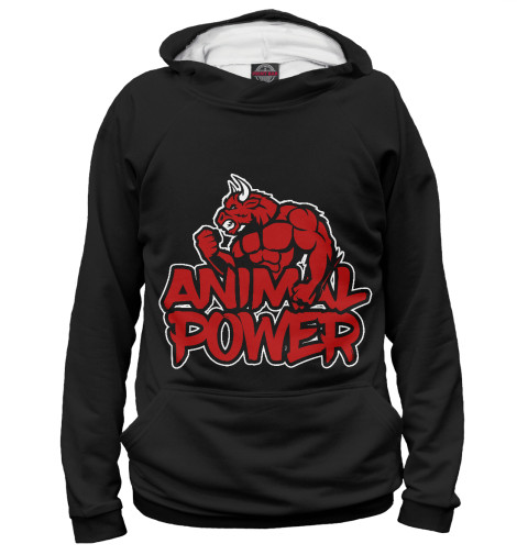 Худи Print Bar Animal power скейт sulov neon pink