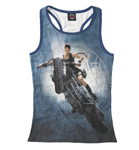 Майка борцовка Print Bar Лара Крофт — Анджелина Джоли футболка классическая printio анджелина джоли