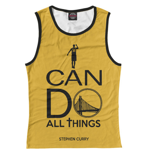 Майка Print Bar Stephen Curry фанатская атрибутика nike curry nba