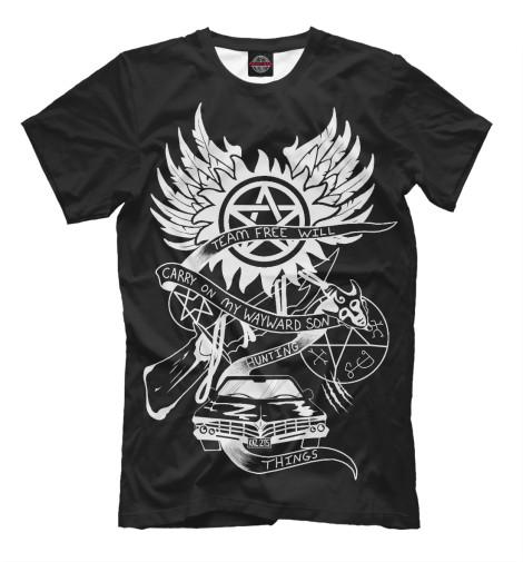 Купить Мужская футболка Supernatural SVE-613526-fut-2