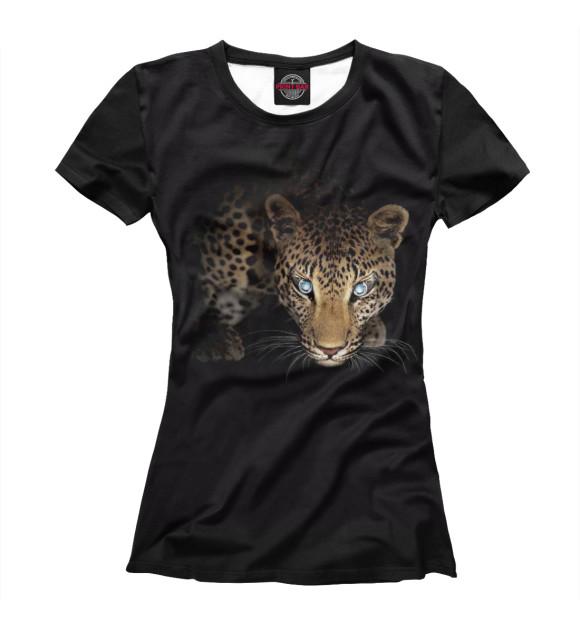 Купить Футболка для девочек Леопард HIS-610019-fut-1
