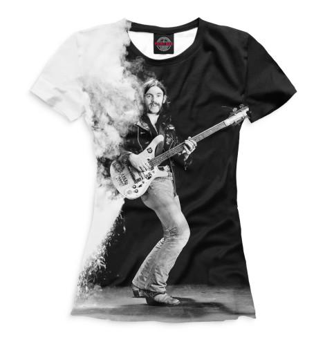 Женская футболка Лемми