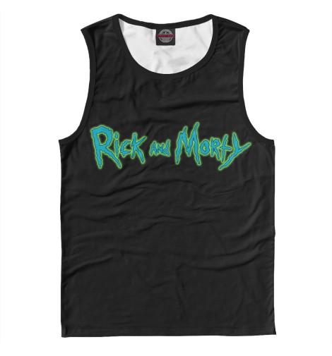 Купить Мужская майка Rick and Morty RNM-469821-may-2