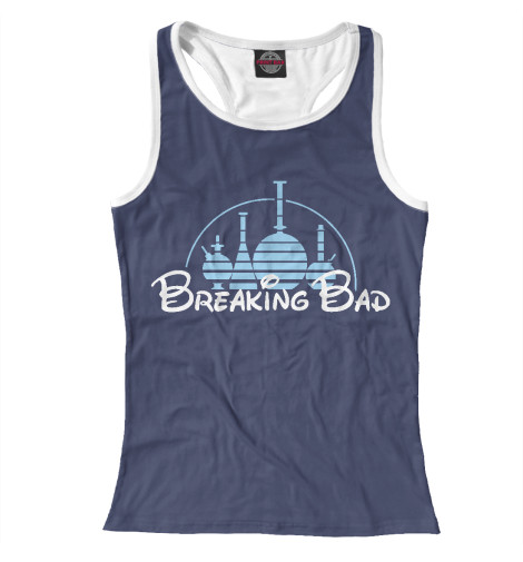 Майка борцовка Print Bar Breaking Disney футболка рингер printio breaking disney