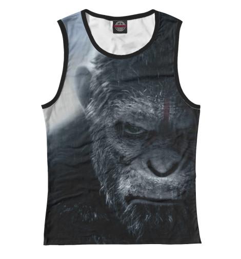 Майка Print Bar Планета обезьян: Революция свитшот print bar война планеты обезьян
