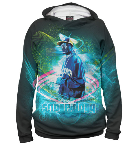 Худи Print Bar Snoop Dogg мышь cbr cm 500 grey