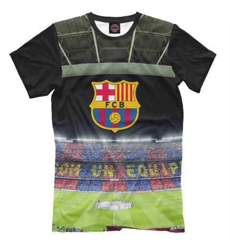 Футболка Print Bar Barcelona поло print bar barcelona trio