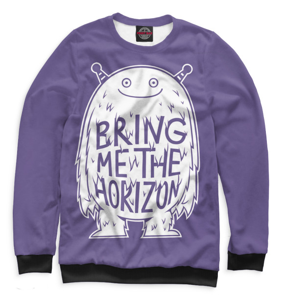 Купить Свитшот для девочек Bring Me The Horizon BRI-754972-swi-1