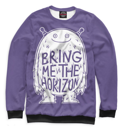 Мужской свитшот Bring Me The Horizon Print Bar BRI-754972-swi