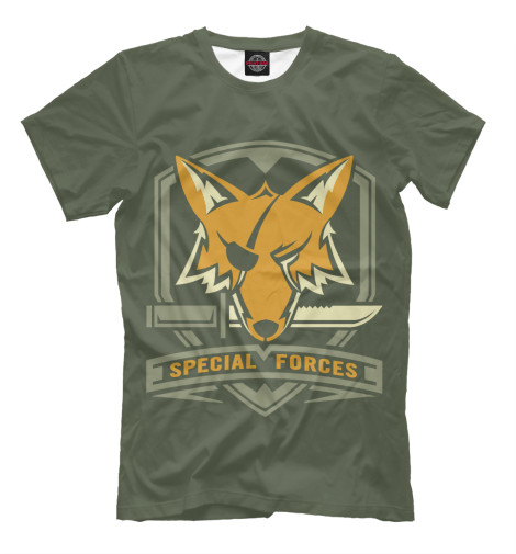 Футболка Print Bar Special Forces Foxhound майка print bar special forces foxhound