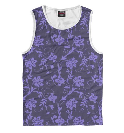 Майка Print Bar Floral (Purple) худи print bar floral purple