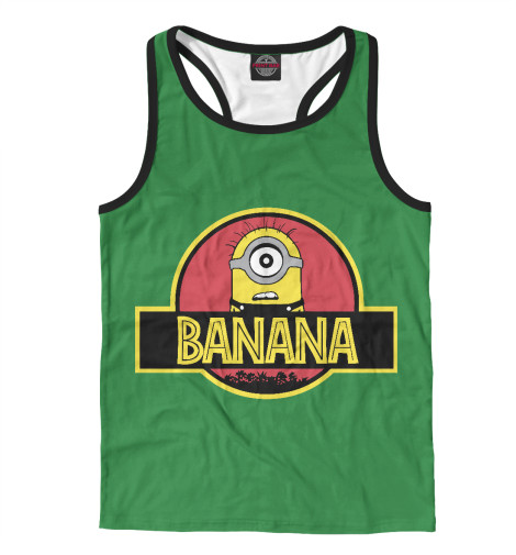 Майка борцовка Print Bar Banana Park поло print bar damask banana