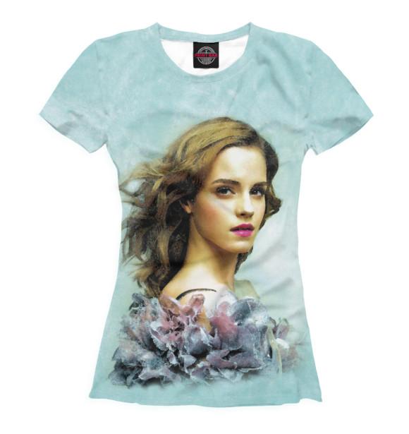 Купить Женская футболка Эмма Уотсон ZNR-593437-fut-1