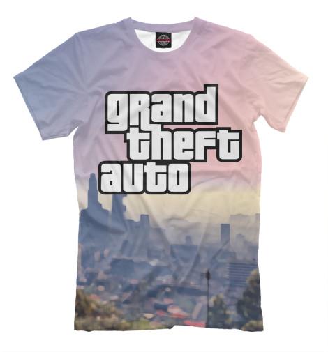 Футболка Print Bar GTA футболка классическая printio mario gta