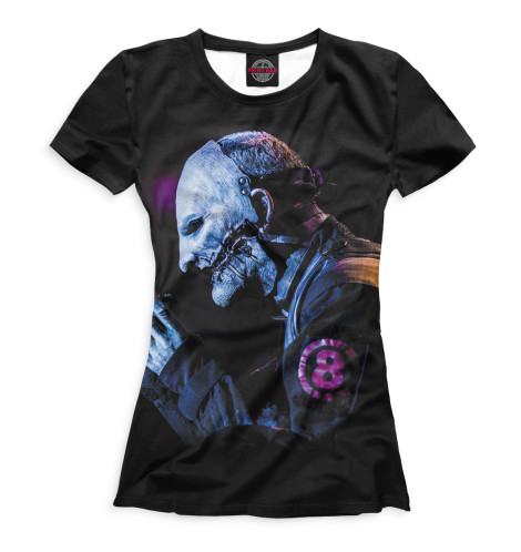 Женская футболка Slipknot