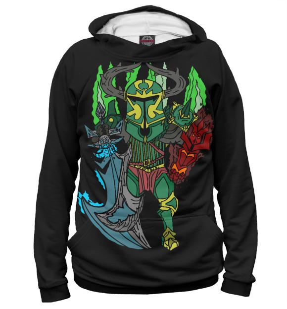 Купить Мужское худи Фан арт Wraith King DO2-502003-hud-2