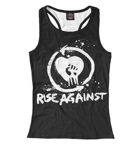 Майка борцовка Print Bar Rise Against майка борцовка print bar rise