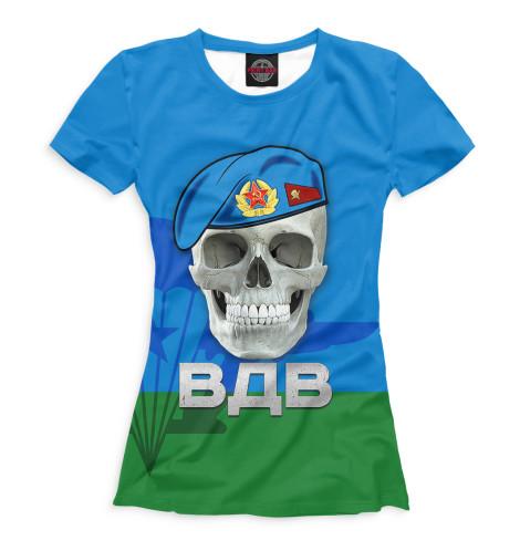 Женская футболка Голубые береты<br><br>Размер INT: 2XS,XS,S,M,L,XL,XXL,XXXL,4XL,5XL,104,110,116,122,128,134,140,146,152,158<br>Цвет: Белый<br>Пол: Женский<br>Материал: Хлопок
