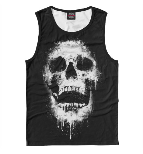Майка Print Bar Evil Skull худи print bar skull