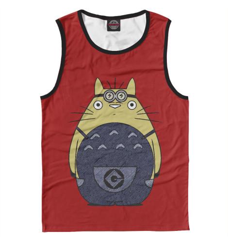 Майка Print Bar Minion Totoro майка print bar totoro