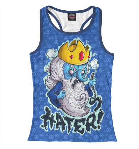 Майка борцовка Print Bar Ice King лонгслив printio ice king x batman