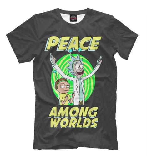 Купить Мужская футболка Peace among worlds RNM-170823-fut-2