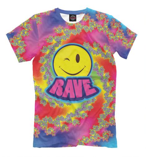 Футболка Print Bar Happy Rave футболка print bar happy rave