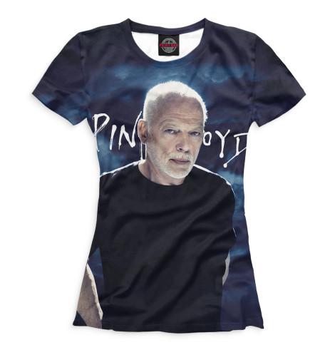 Женская футболка Дэвид Гилмор