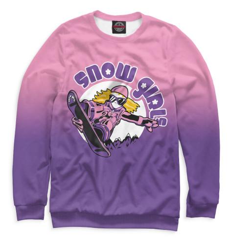 Свитшот Print Bar Snow Girls girls 100
