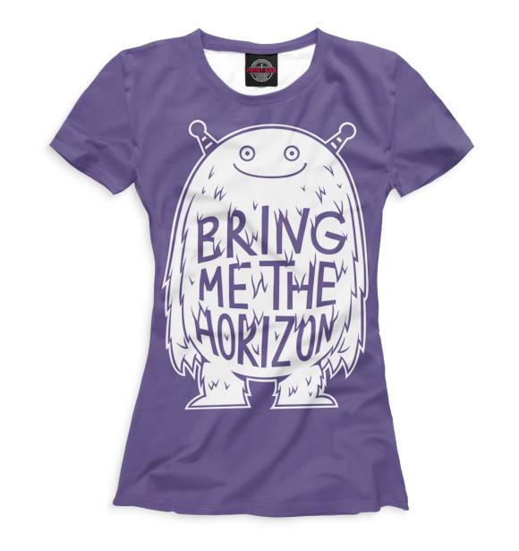 Купить Женская футболка Bring Me The Horizon BRI-754972-fut-1