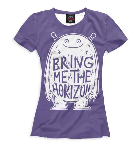 Купить Футболка для девочек Bring Me The Horizon BRI-754972-fut-1