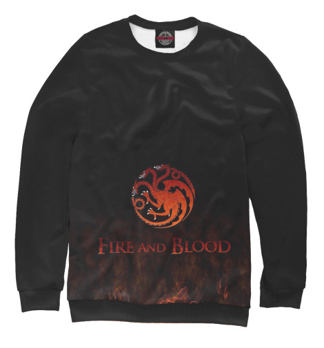 Свитшот Print Bar Fire & Blood свитшот print bar acid mind