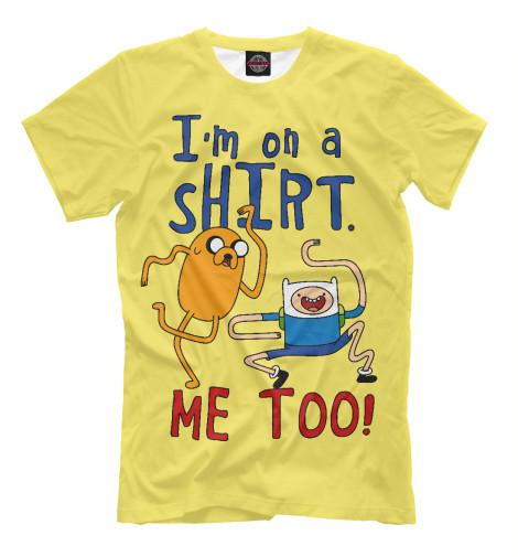 Купить Мужская футболка Финн и Джейк ADV-520547-fut-2