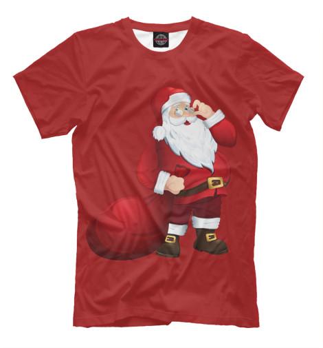 Футболка Print Bar Дед Мороз