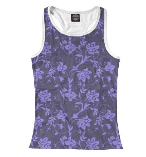 Майка борцовка Print Bar Floral (Purple) худи print bar floral purple