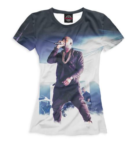 Женская футболка Kanye West