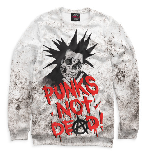 Свитшот Print Bar Punks not Dead! original monstr high love s not dead ghoulia yelps
