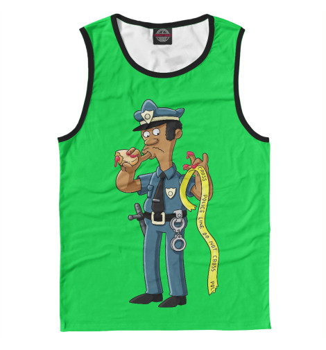 Майка Print Bar Simpsons Police police pl 12921jsb 02m