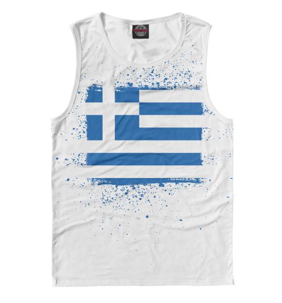 Купить Майка для мальчика Греческий флаг CTS-556267-may-2