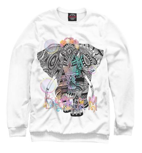 Свитшот Print Bar Слон на исполнение мечты свитшот print bar слон