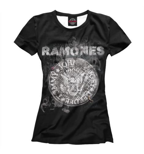 Футболка Print Bar Ramones поло print bar ramones