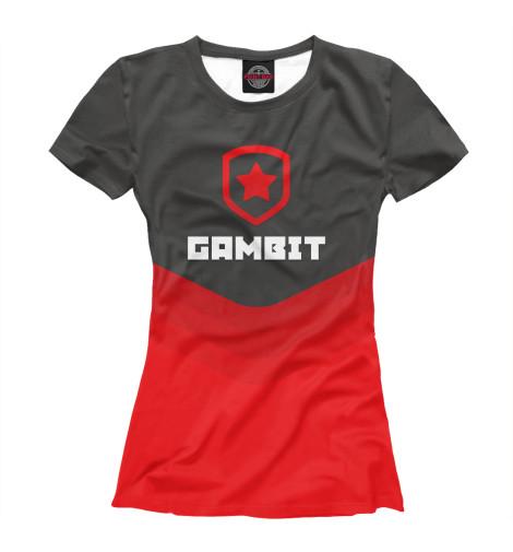 Футболка Print Bar Gambit Gaming Team queen s gambit