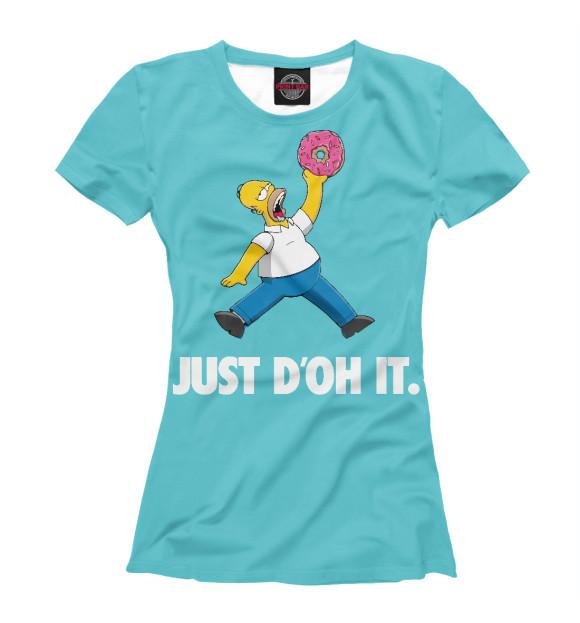 Купить Футболка для девочек Just D'oh It SIM-513596-fut-1
