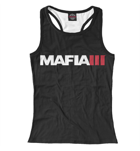 Майка борцовка Print Bar Mafia 3 ps4 mafia iii [русские субтитры]