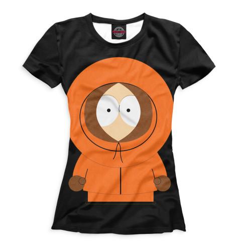 Женская футболка Кенни