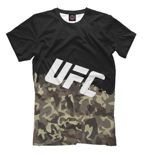 Футболка Print Bar UFC Камуфляжная майка борцовка print bar ufc камуфляжная
