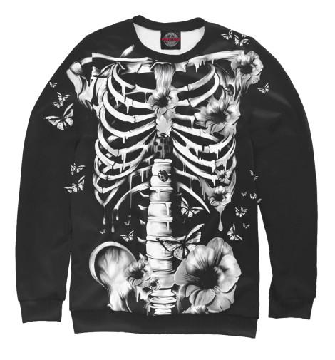 Свитшот Print Bar Floral Skeleton skeleton key