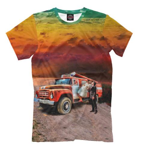Купить Мужская футболка ЗиЛ-130 APD-880196-fut-2