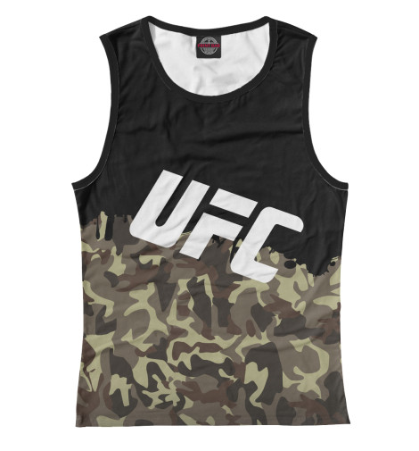 Майка Print Bar UFC Камуфляжная майка print bar ufc green