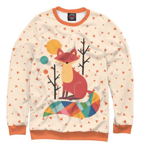 Свитшот Print Bar Осенняя лисичка